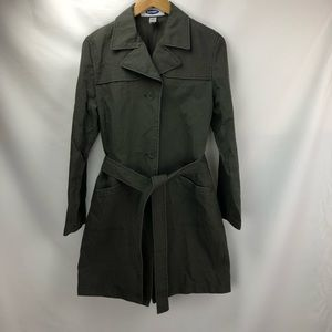 Vintage Old Navy trench coat with belt. Size L